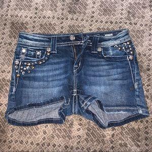 Kid Miss Me Jean Shorts